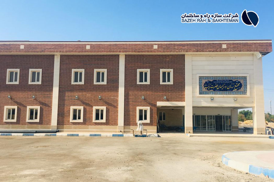 Construction of maternity ward for Dr. Ganjoyan hospital in Dezful with an estimated area of 8000 square meters