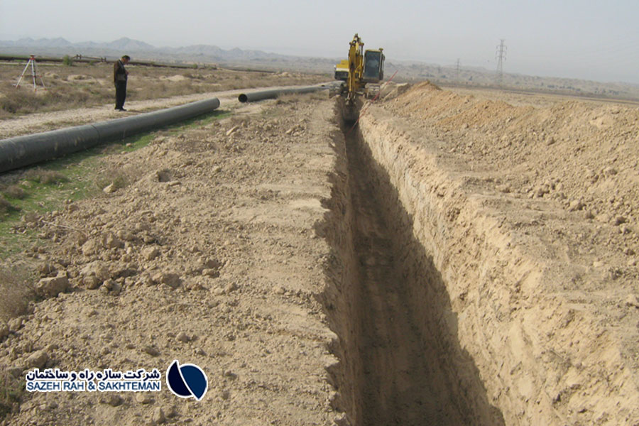 Construction of pumping station and implementation of polyethylene pipeline operation of raw water transmission lines of Khorramshahr green spaces
